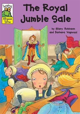 The Royal Jumble Sale by Hilary Robinson image