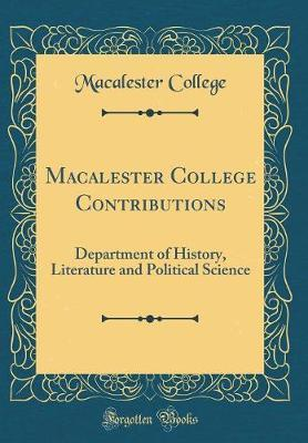 Macalester College Contributions by Macalester College image