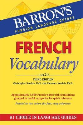French Vocabulary by Christopher Kendris