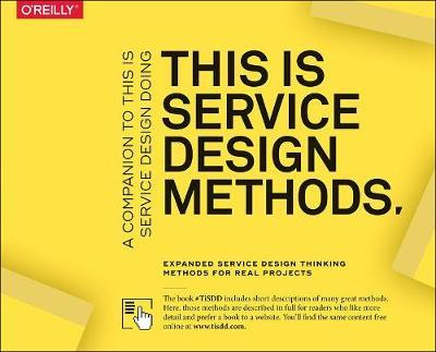 This Is Service Design Methods by Markus Edgar Hormess