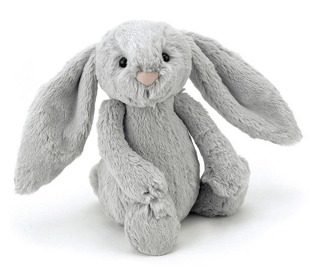 Jellycat: Bashful Silver Bunny - Small Plush