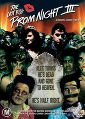 The Prom Night 3: Last Kiss on DVD
