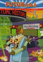 Futurama Season 4 Disc 3 on DVD