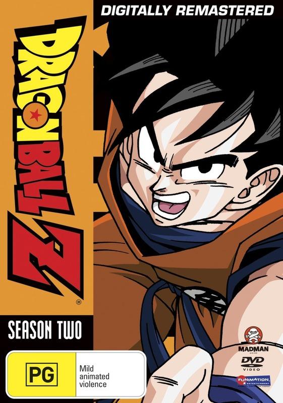 Dragon Ball Z - Season 2 on DVD