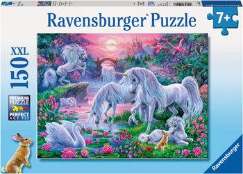 Ravensburger - Unicorns At Sunset Puzzle (150pc)