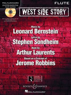 West Side Story for Flute: Instrumental Play-Along Book/CD Pack image