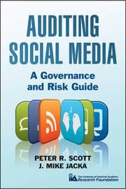 Auditing Social Media by Peter R. Scott