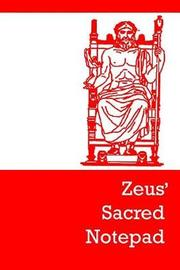Zeus' Sacred Notepad by Lazaros' Blank Books image