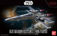 Star Wars: The Last Jedi - 1/72 Blue Squadron Resistance X-Wing - Model Kit