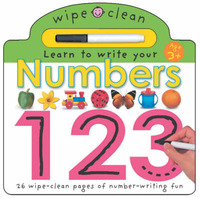 Wipe Clean - Numbers by Roger Priddy