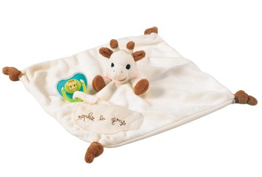 Vulli: Sophie the Giraffe Comforter with Soother Holder image