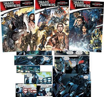 Transformers Official Movie Adaptation by Roberto Orci