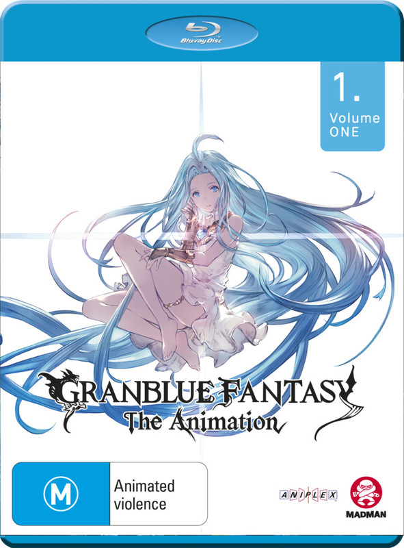 Granblue Fantasy: The Animation Vol. 1 (eps 1-7) on Blu-ray