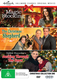 Hallmark Christmas Collection One - Magic Stocking, Christmas Shepherd, Dashing Through The Snow on DVD