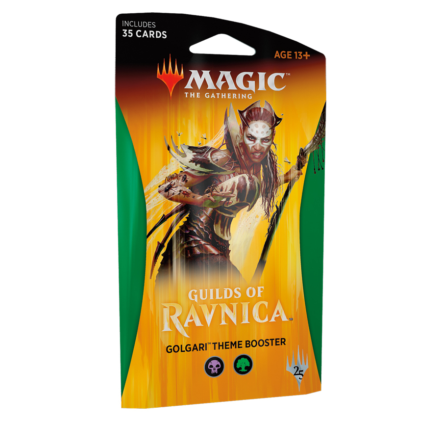 Magic The Gathering: Guilds of Ravnica Theme Booster: Golgari image