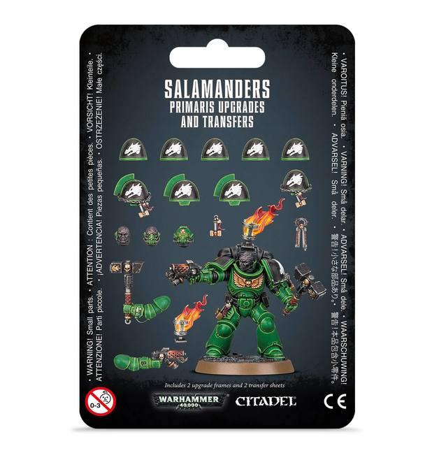Warhammer 40,000: Salamanders Primaris Upgrades & Transfers