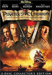 Pirates Of The Caribbean: Curse Of The Black Pearl - Collector's Edition on DVD
