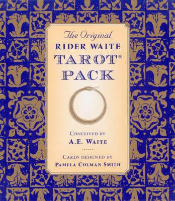 The Original Rider Waite Tarot Pack by Arthur Edward Waite