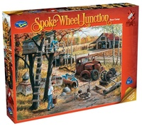 Holdson: 1000pce Puzzles - Spoke Wheel Junction Base Camp