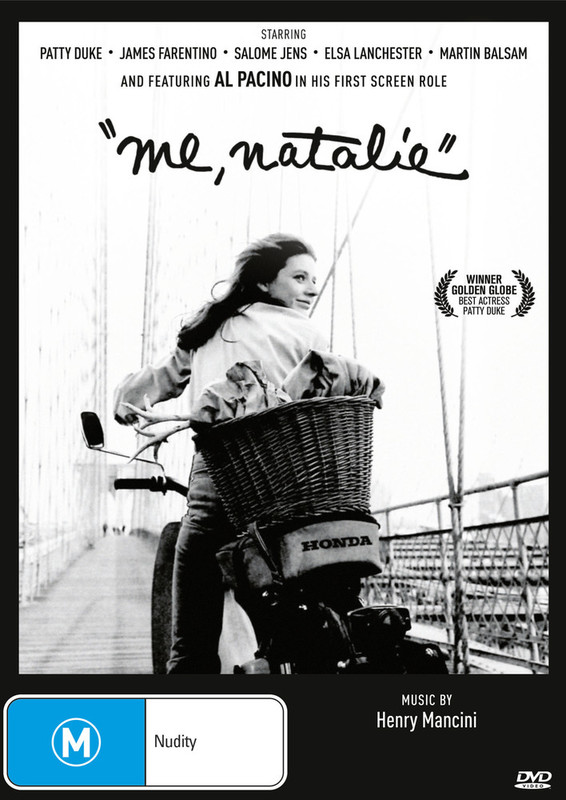 Me, Natalie on DVD