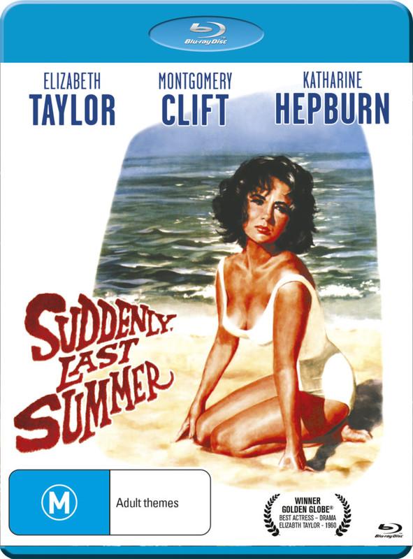 Suddenly, Last Summer on Blu-ray