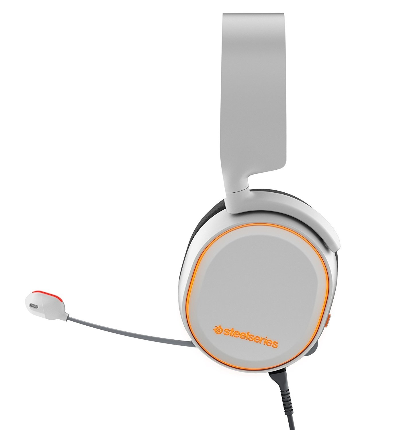 SteelSeries Arctis 5 Wired Gaming Headset (White) for PC Games image
