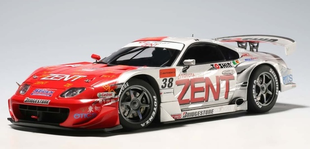 AUTOart: 1/18 '05 Supra Super GT No.38 Diecast Model
