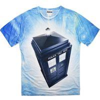 Doctor Who TARDIS Galaxy T-Shirt (X-Large)