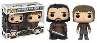 Game of Thrones (S8) - Jon & Bran Pop! Vinyl 2-Pack