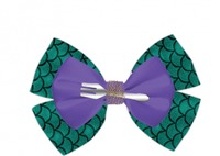 Neon Tuesday: The Little Mermaid - Dingelhopper Hair Bow image