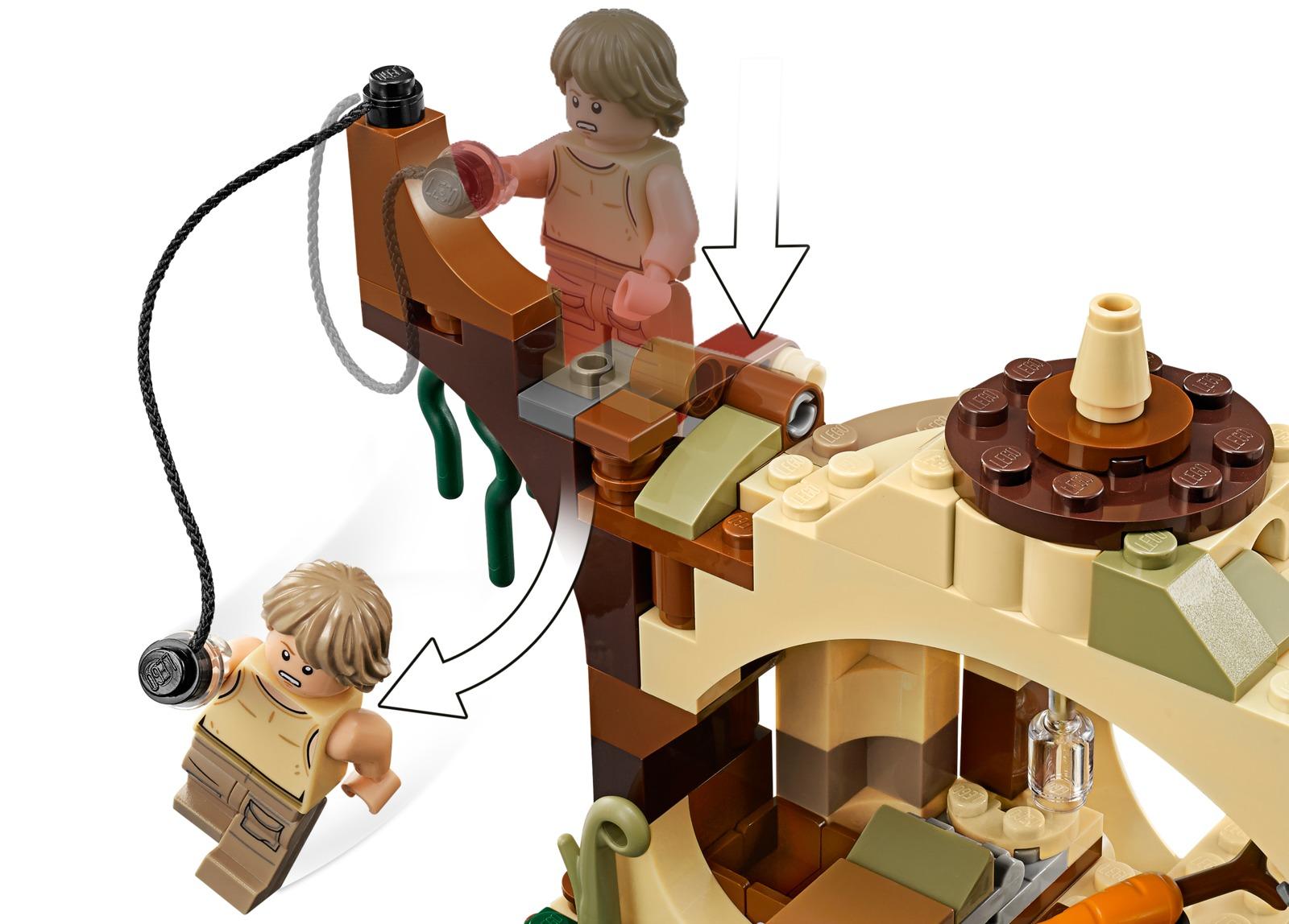 LEGO Star Wars: Yoda's Hut (75208) image