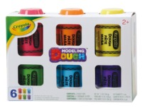 Crayola: Dough - 6-Pack (Assorted Colours)