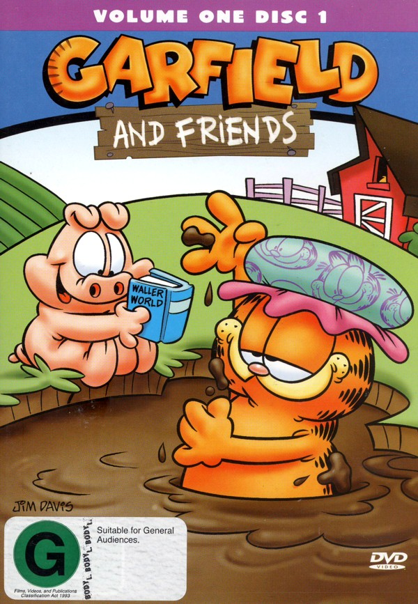 Garfield And Friends - Vol. 1: Disc 1 on DVD image
