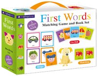 Alphaprints First Words Matching Set by Roger Priddy