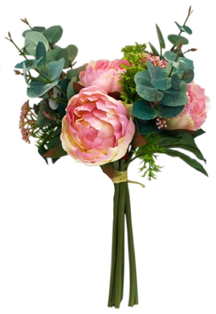 Pink Peony Native Bouquet image