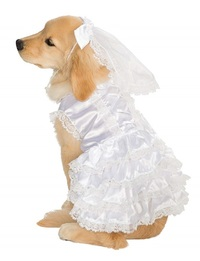 Rubies: Bride Big Dog Pet Costume (XXX-Large)