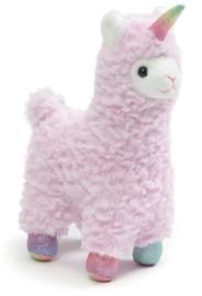 """Gund: Llamacorn - 7"""" Chatter Plush (Pink) image"""