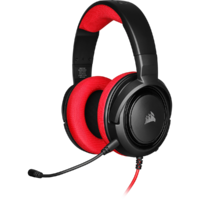 Corsair HS35 Stereo Gaming Headset (Red) for PC image