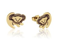 Couture Kingdom: Disney The Lion King Simba Stud Earrings - Yellow Gold