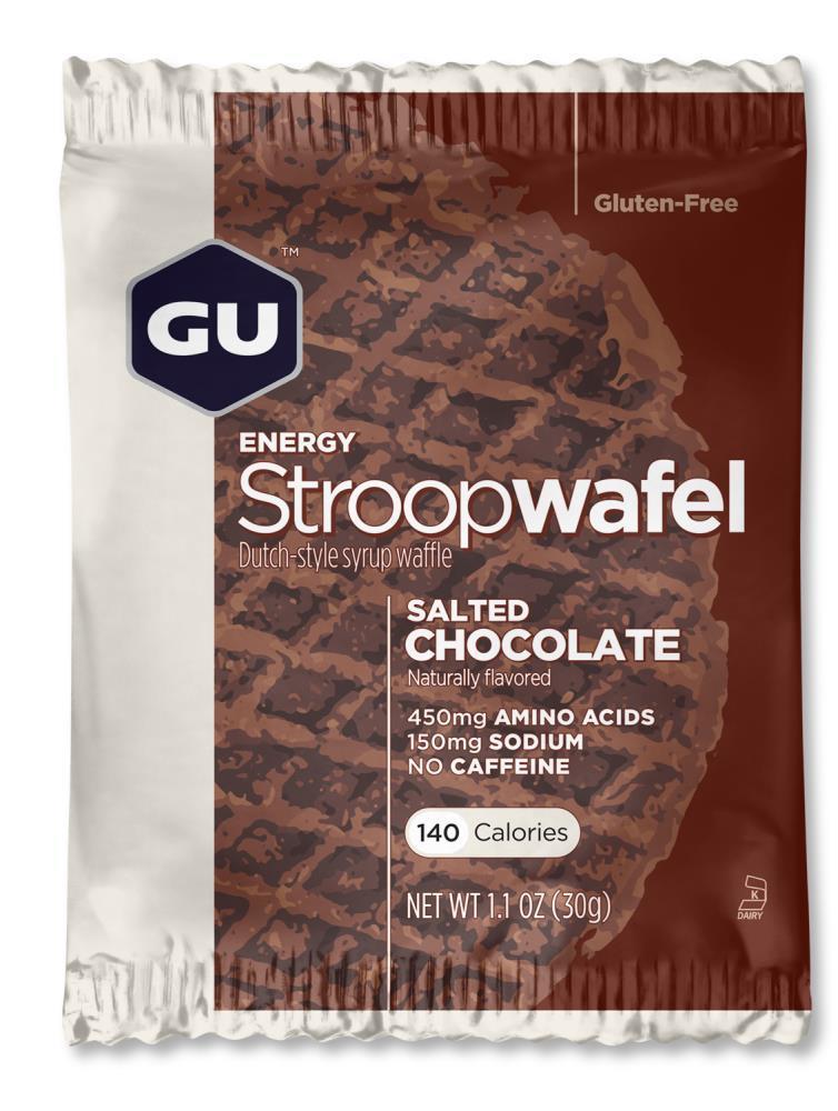 GU Energy Gluten Free Stroopwafel - Salted Chocolate (30g) image