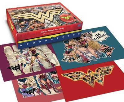 DC Comics: Wonder Woman Blank Boxed Note Cards by Insight Editions