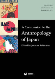 A Companion to the Anthropology of Japan image