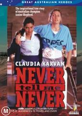 Never Tell Me Never on DVD