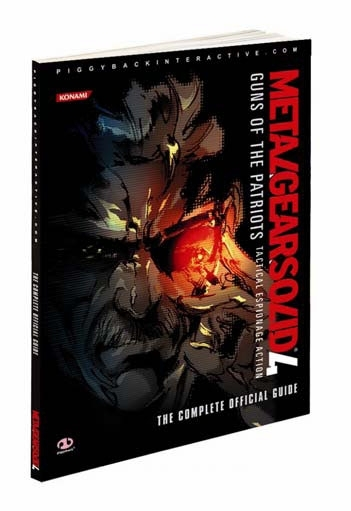 Metal Gear Solid 4 Limited Edition Piggyback Game Guide