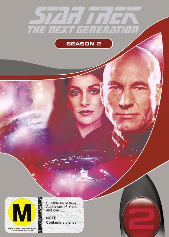 Star Trek: The Next Generation - Season 2 on DVD