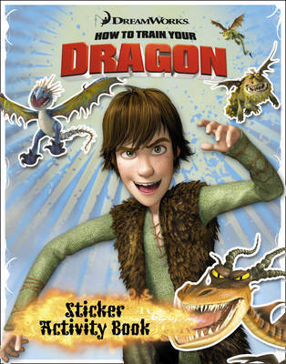 """How to Train Your Dragon"" - Sticker Activity Book image"