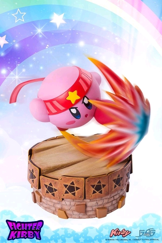 "Kirby - 13"" Fighter Kirby Statue"