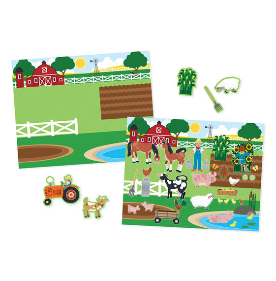 Melissa & Doug: Habitats Reusable Sticker Pad image