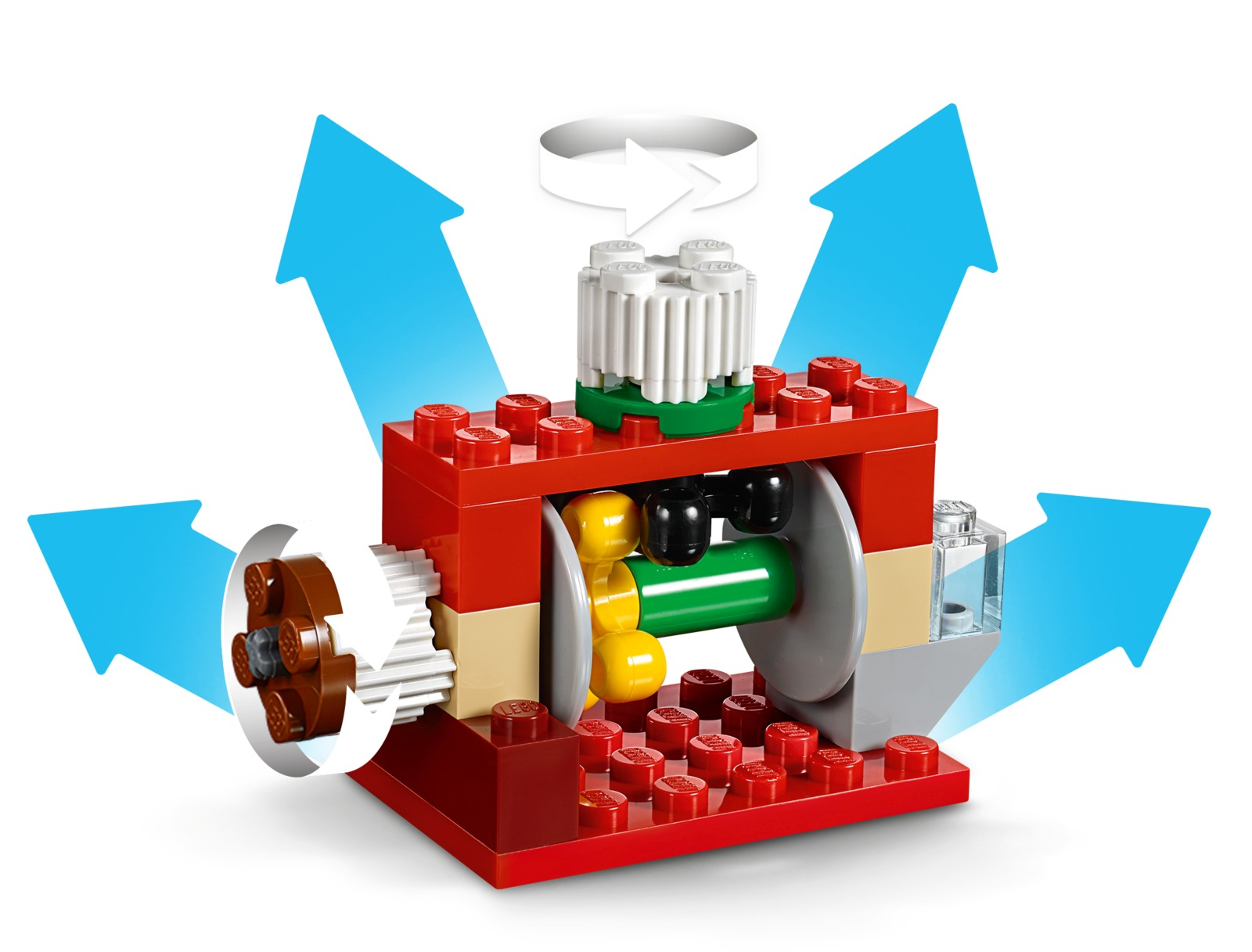 LEGO Classic: Bricks and Gears (10712) image