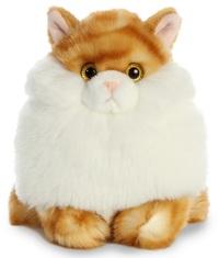 Aurora: Fat Cat Plush - Butterball Tabby
